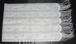 Шарф белый плотный (150х40см), арт. 56.11