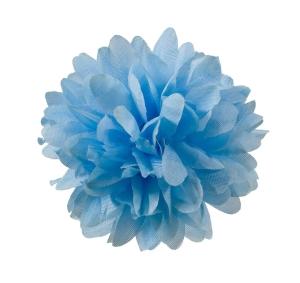 Хризантема шелк d-10 см синий (1/100)