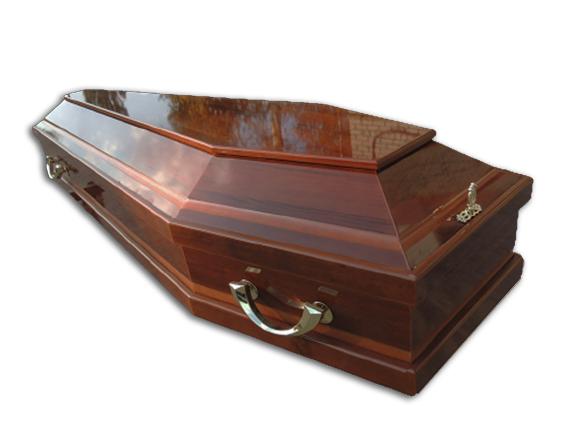 """Гроб лакированный """"Модель 17"""""""