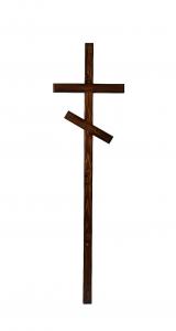 Крест сосновый - лак 07